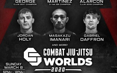 "Geo Martinez to Compete at Combat Jiu Jitsu Worlds ""The Featherweights"""
